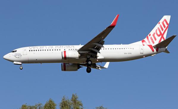 VH-YFK VIRGIN AUSTRALIA B737-800