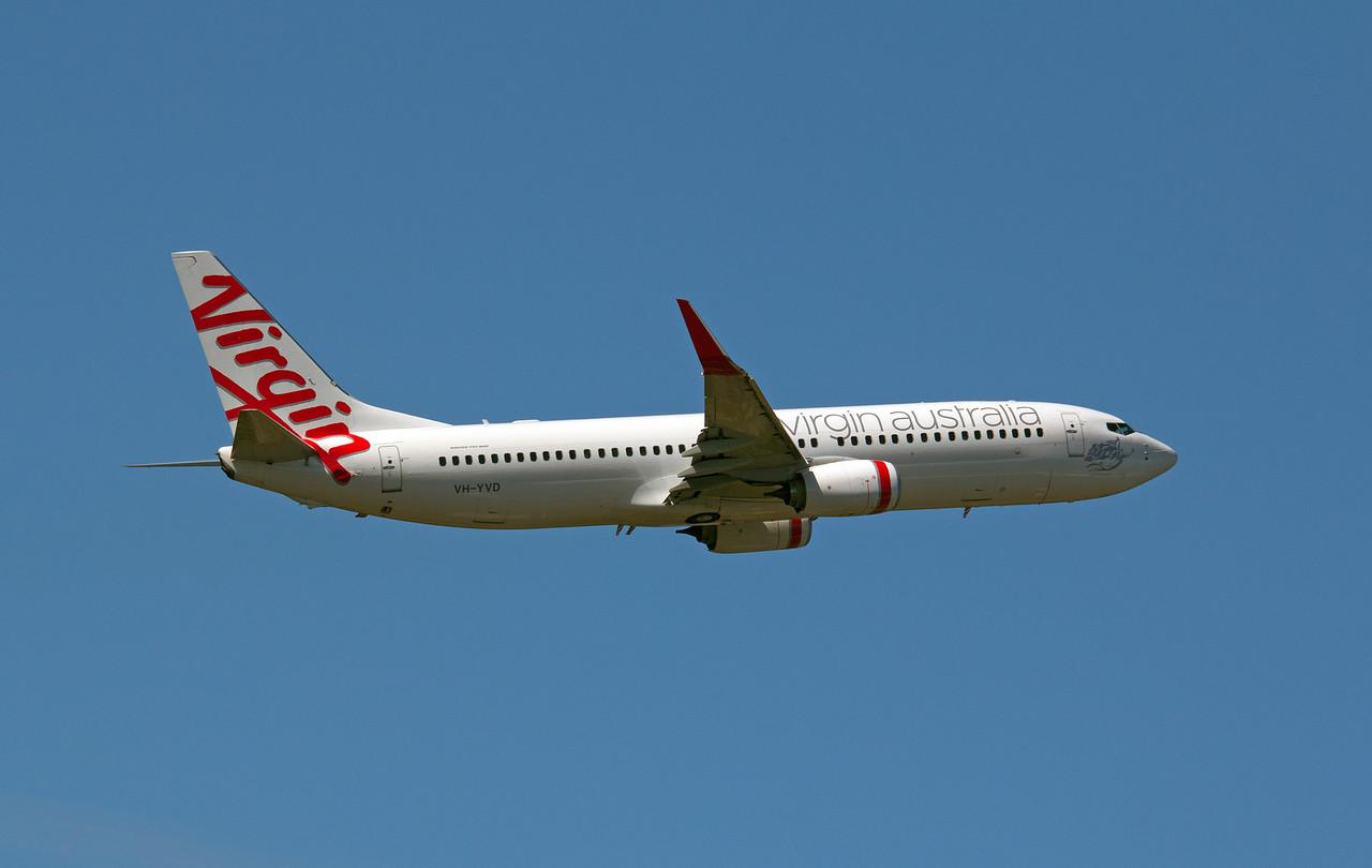 VH-YVD VIRGIN AUSTRALIA B737-800
