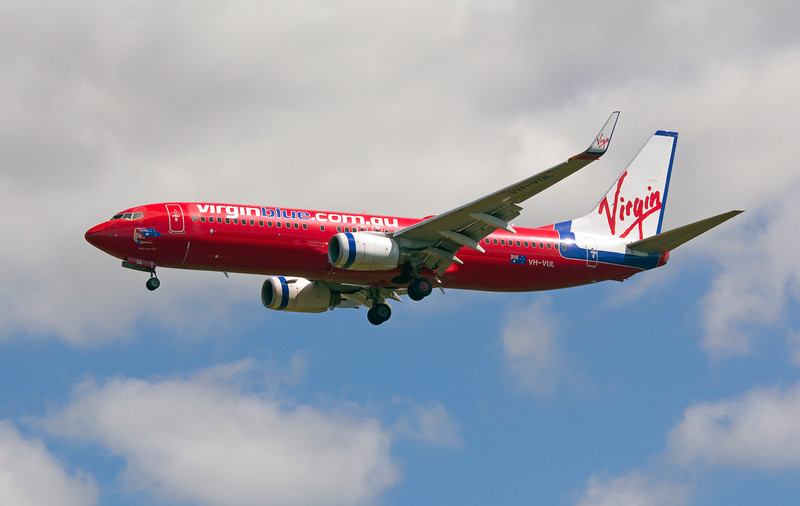 VH-VUL VIRGIN BLUE B737-800