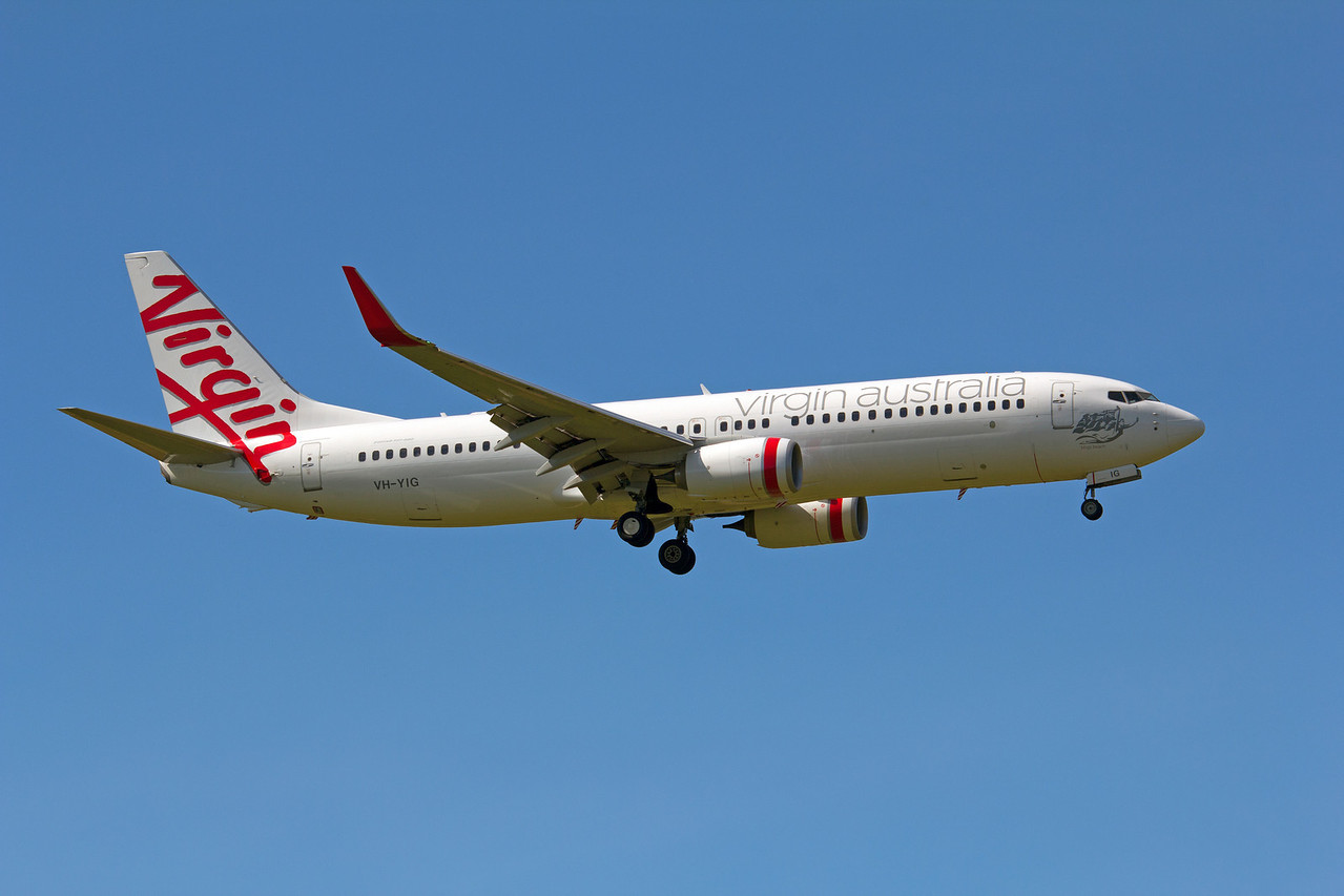 VH-YIG VIRGIN AUSTRALIA B737-800
