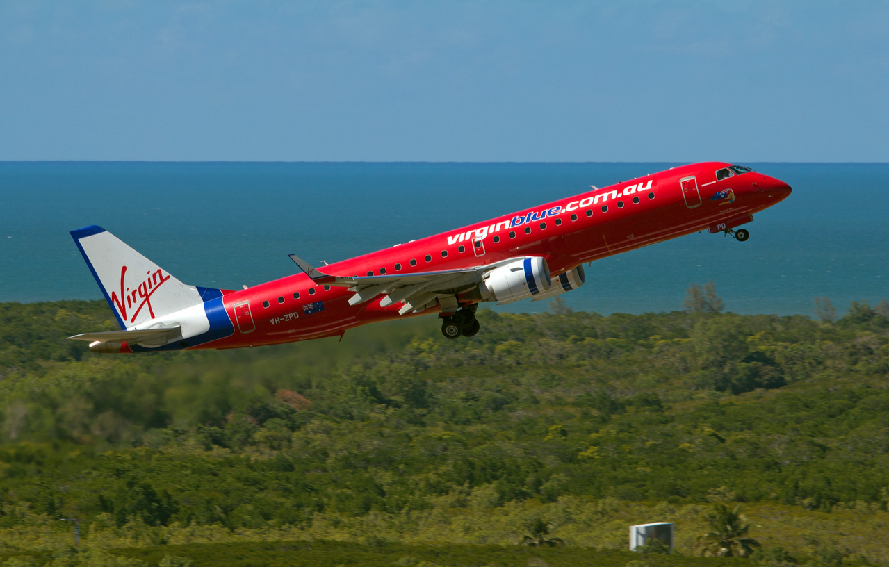 VH-ZPD VIRGIN BLUE ERJ-190
