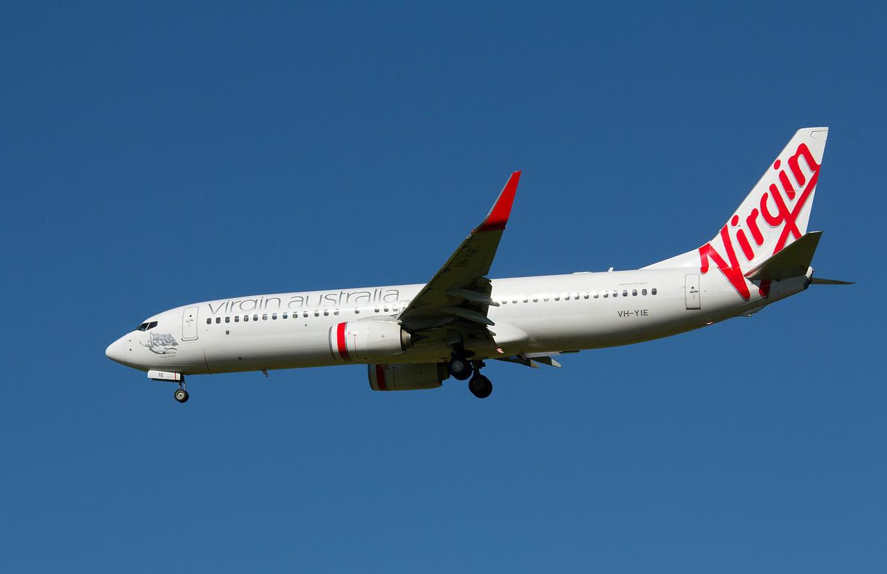 VH-YIE VIRGIN AUSTRALIA B737-800
