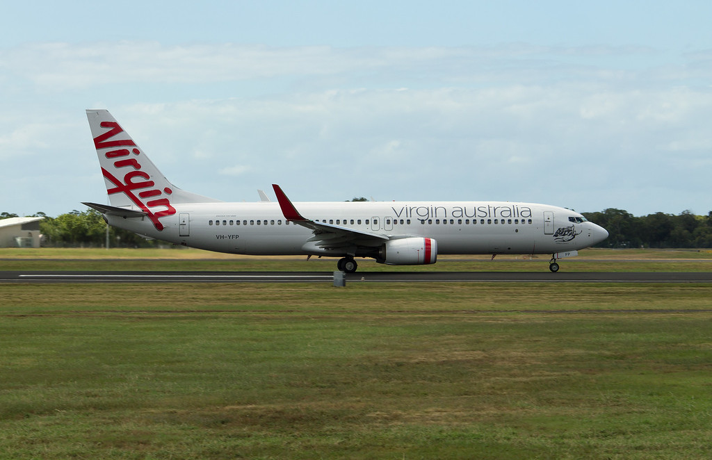VH-YFP VIRGIN B737-800