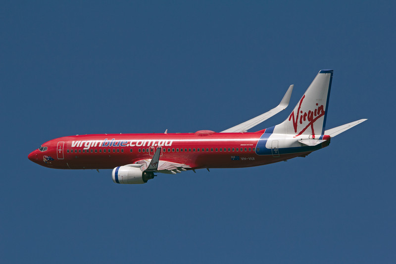 VH-VUI VIRGIN BLUE B737-800