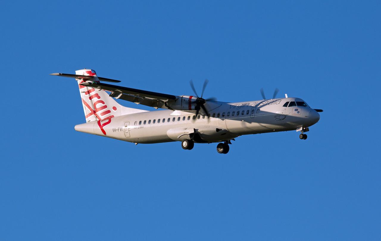 VH-FVI VIRGIN ATR-72-500