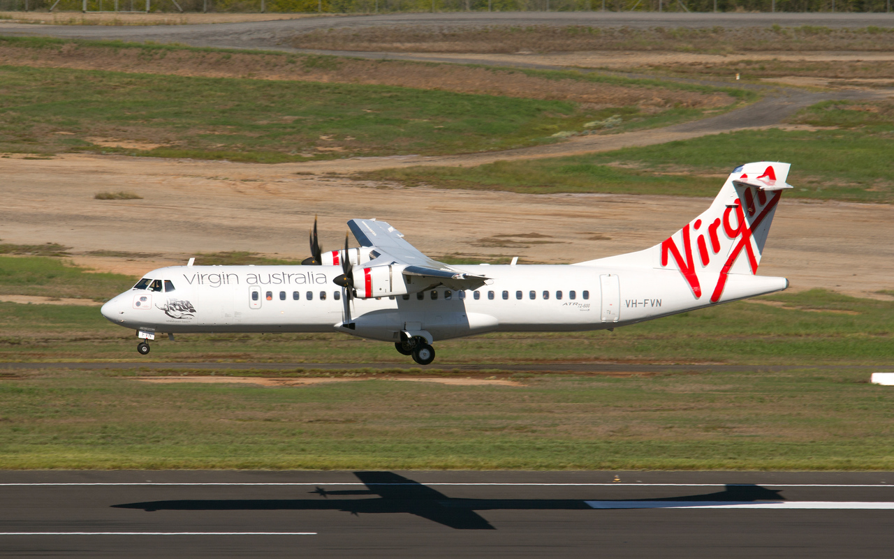 VH-FVN VIRGIN ATR-72-600