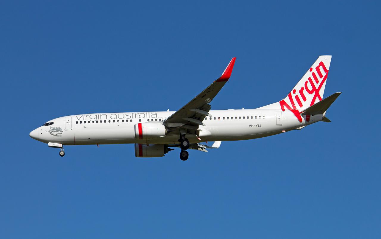 VH-YIJ VIRGIN AUSTRALIA B737-800