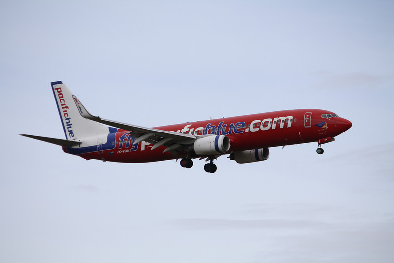 Virgin Blue / Pacific Blue<br /> Boeing 737-800<br /> ZK-PBA