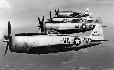 Virginia Air National Guard - P-47D Thunderbolt