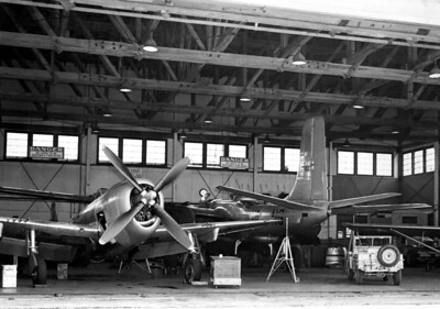 Old Hangar P-47 and B-26 001 KK AB copy