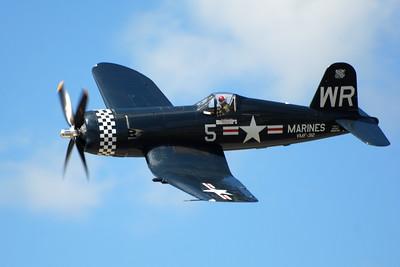 Chance Vought F4U Corsair - Wings over Waukegan - Waukegan, Illinois - Photo Taken: September 8, 2012