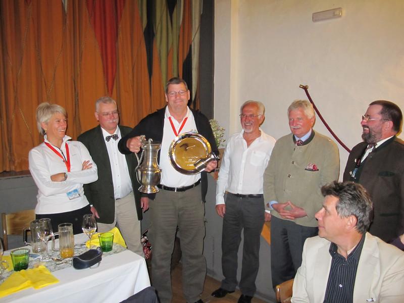 El ganador de la Coupe Geiger 2012, Christina Lackner