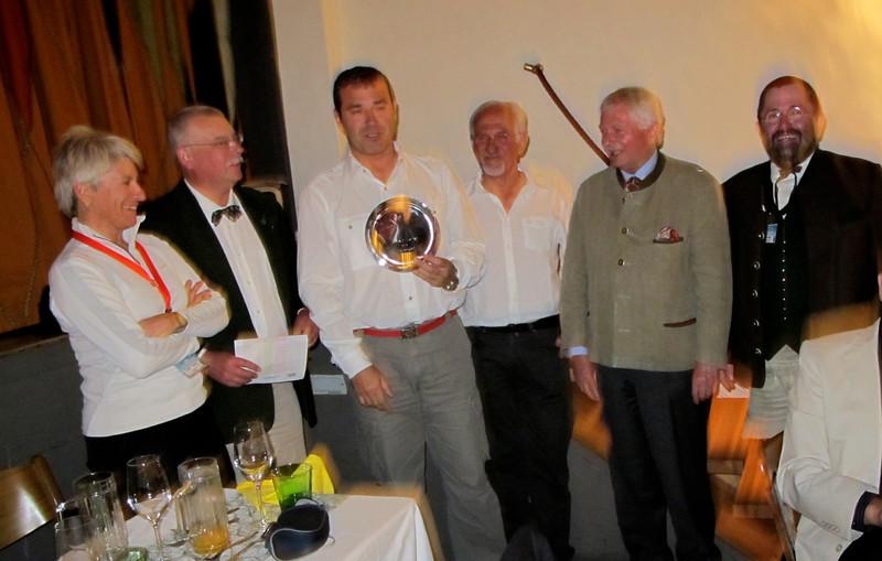 A.Pereda, Cantabria, tercer clasificado en la Coupe Geiger