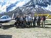 "La ""tribu"" de pilotos españoles con Robert presidente de  la Federacion Europea vuelo montaña."