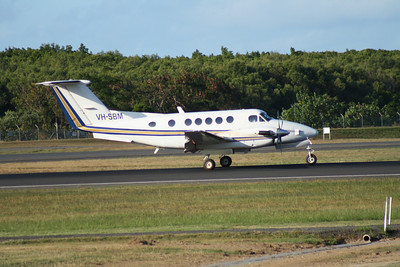 VH-SBM WESTWING AVIATION BEECH-200 KING AIR
