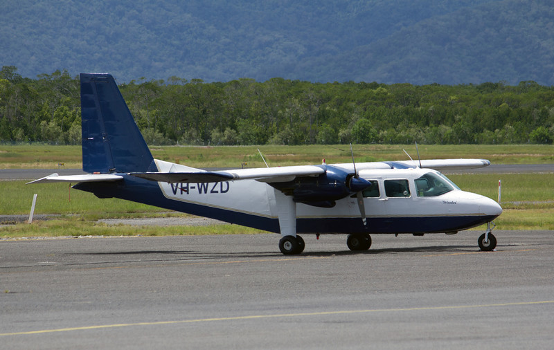 VH-WZD WESTWING AVIATION  BRITTEN  NORMAN ISLANDER