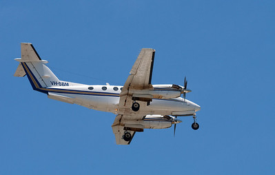 VH-SBM WESTWING AVIATION KING AIR