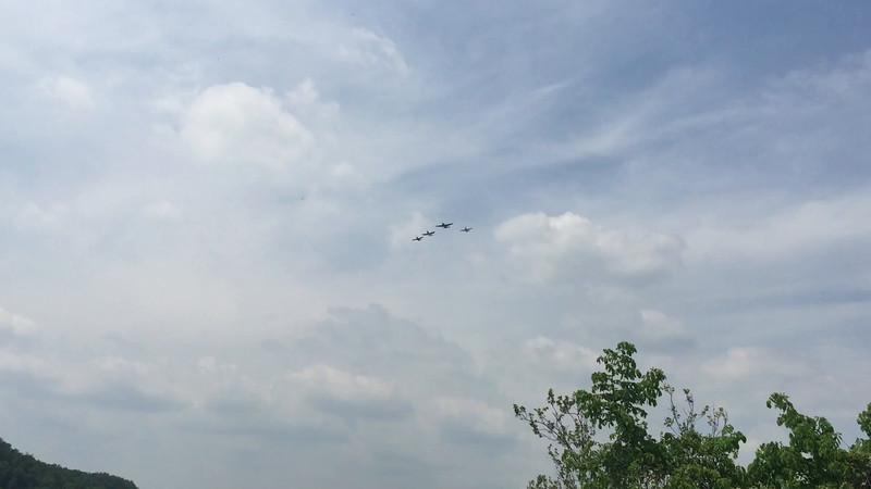 WW2 Flyover 2015