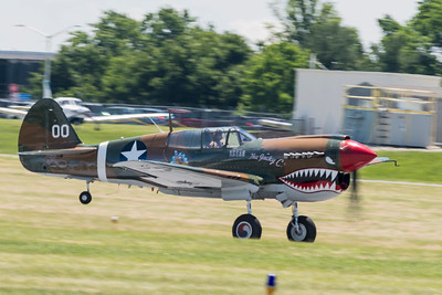 "Curtiss P-40 Warhawk ""The Jacky C"""