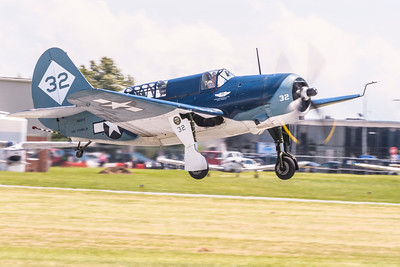 Curtiss SB2-C Helldiver from the Commemorative Air Force