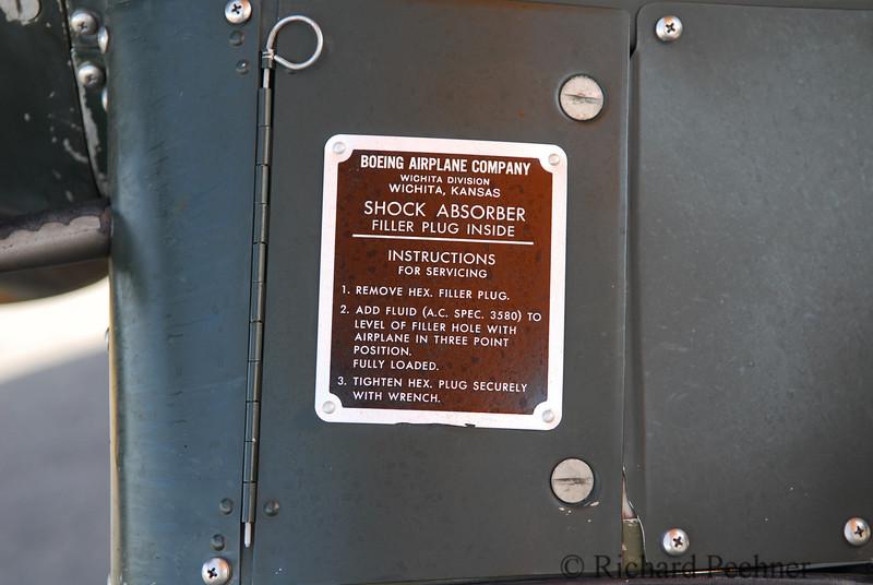 shock absorber label