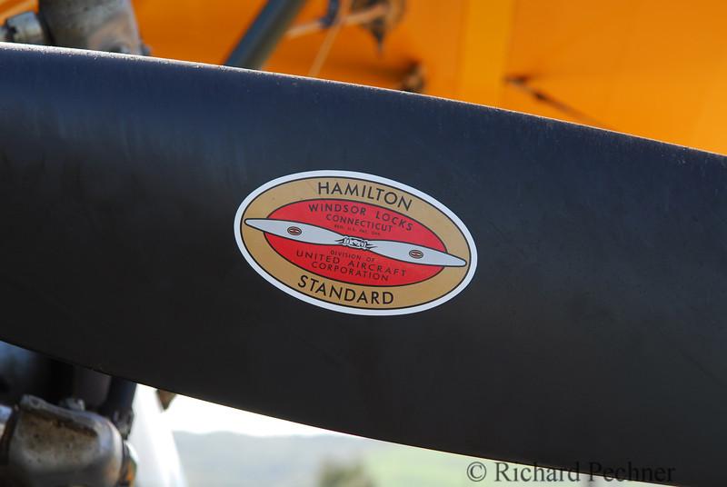 Hamilton Standard label