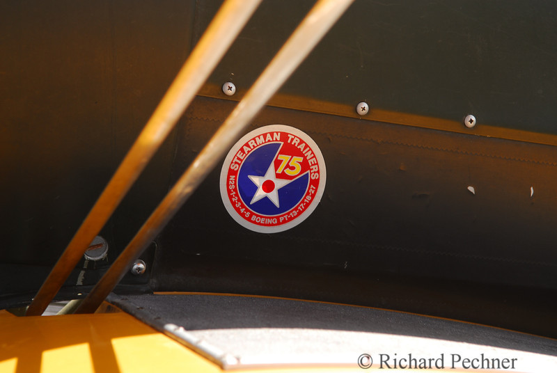 Stearman Trainer label