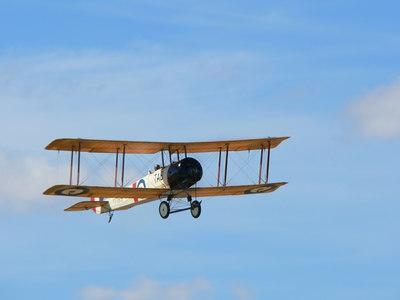 Warwick Gregory's Avro 504k
