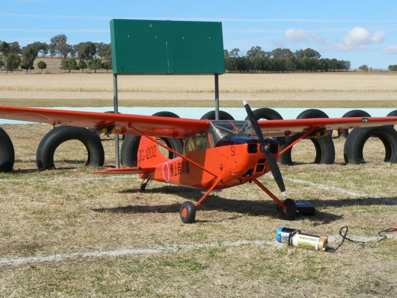 "David Balfour's Cessna Bird Dog. Modified Vailliancourt plans, powered by Brison 52cc.<br /> <a href=""http://www.vaillyaviation.com/Intro.html"">http://www.vaillyaviation.com/Intro.html</a>"