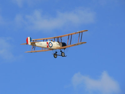 The Avro 504k is one of the greatest training aircraft ever built. It was used to equip training units first in the Royal Flying Corps and later the Royal Air Force.  Developed from the original Avro 504 of 1913, the 504k differed from the earlier training variants by having modified engine bearers which allowed it to be fitted with a variety of rotary engines. Interchangeability was necessary due to shortage of certain types of engine and provided a welcome flexibility for the hard pressed trainer units.