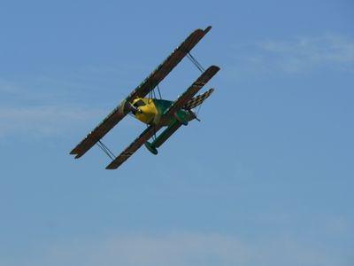 Dennis McLean's 1/4 scale Fokker D.VII.