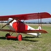 "JK's Fokker D.VII 88"" span and powered by a Quadra 52cc.from Gary Small plans"
