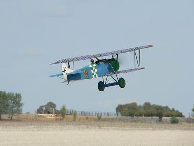 Gary Sunderland's 1/4 sclae Fokker D.VII.
