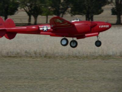 Rod Mitchell's P38 Lightning.