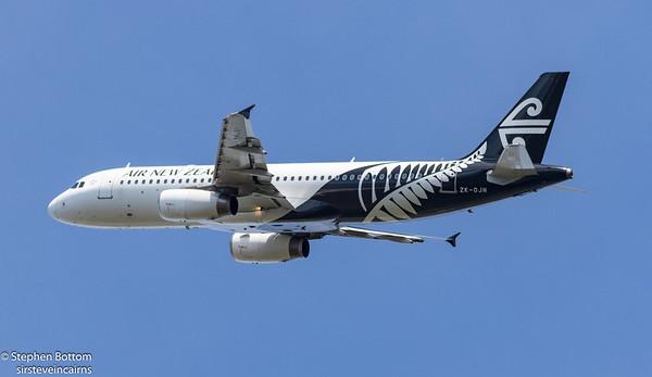 ZK-OJN AIR NEW ZEALAND A320