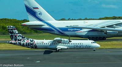 P2-ATB PNG AIR ATR-72-600 RA-82044 VOLGA-DNEPR AN124-100