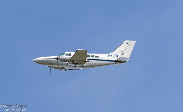 VH-THX  TOWNSVILLE AIRLINES CESSNA-402C