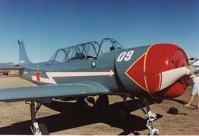 VH-YYC YAK-52 (CRACK A YAK)