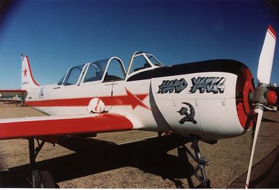 VH-KMM YAK-52  (HARD YAKKA)