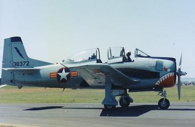 VH-XVT NORTH AMERICAN T-28 TROJAN