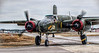 The beautiful B25, 'Tondelayo' on the move