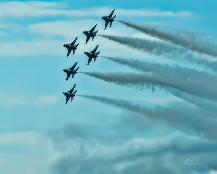 Thunderbirds at the Coco Beach Airshow