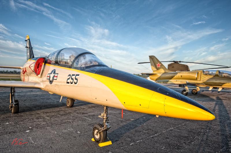 "L - 39 ZA<br /> ~Albatros~<br /> <br /> Owned by Bob ""Headhunter"" Davis<br /> <br /> Wings Over Flagler"