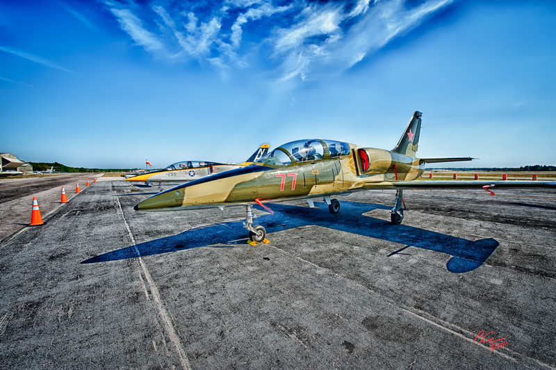 `Jets Rule'<br /> <br /> L-39<br /> <br /> Wings Over Flagler