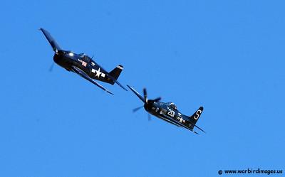 Flying with a Grumman F6F Hellcat