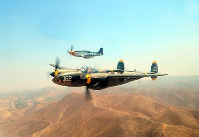 Wee Willie II with 23 Skedoo P-38 Lightning