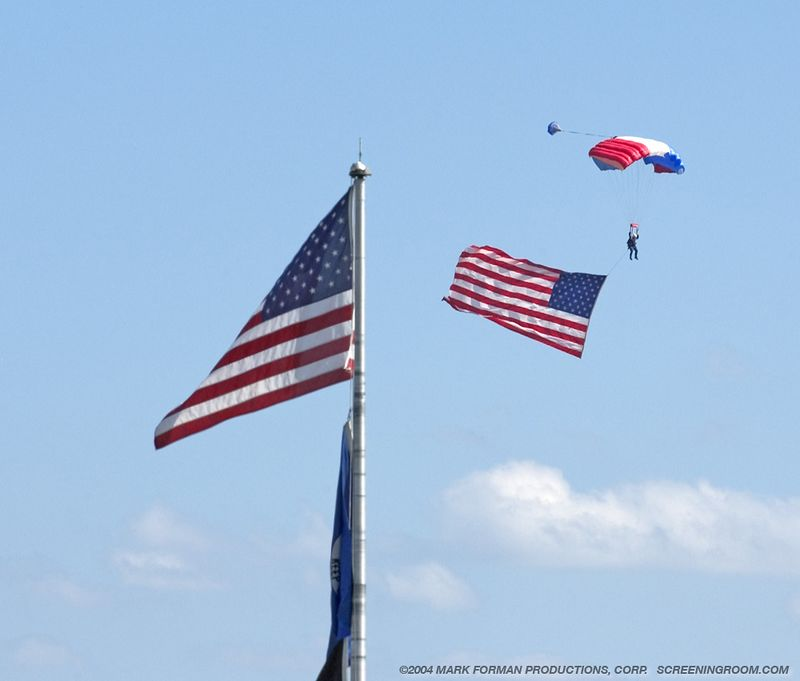 Parachutists&Flags©_6882