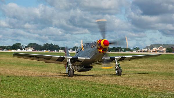44-74474 (N451MG). North American P-51D Mustang. USAAF. Oshkosh. 260718.