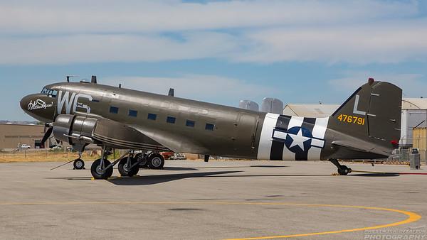 476791. Douglas C-47B Skytrain. USAAF. Chino. 010515.