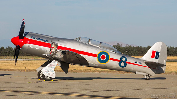 NX20SF. Hawker Sea Fury FB.11. Chino. 010515.